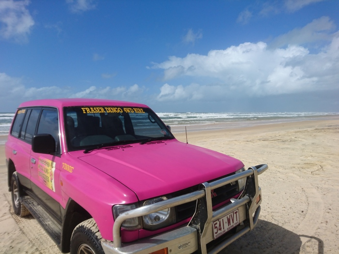 Off-road adventures on Fraser Island