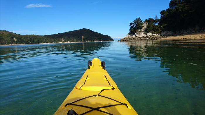 Kayak in Abel Tasman, New Zealand