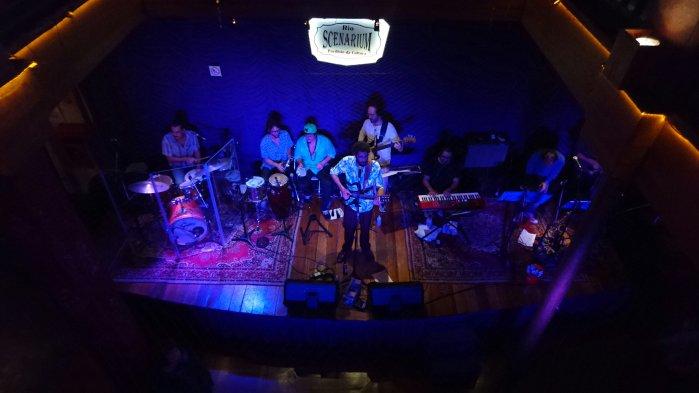 Live samba band at Rio Scenarium, a samba club in Rio de Janeiro