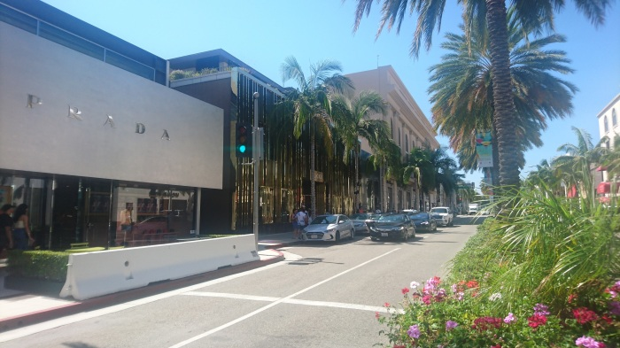 Shopping heaven on Rodeo Drive in Beverly Hills, Los Angeles