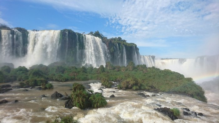 Iguazu Falls, the world's biggest waterfall, Brazil